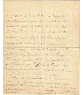 BONAPARTE (Pierre-Napoléon). Cousin de Napoleon III. Lettre autographe, 6 juillet 1848 (Réf. G 4580)