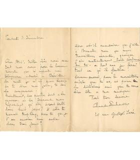 DEBUSSY (Claude), 1er décembre 1893 (G 4848).