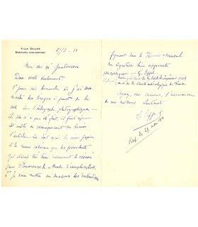 EIFFEL Gustave,27 mars 1911