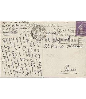 KISLING Moïse, lettre de 1929