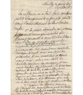 LOUIS-PHILIPPE D'ORLEANS, 17 mai 1827 (Réf. G 4720)
