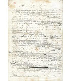 LORRAIN JEAN. Manuscrit pour ses Pall Mall.