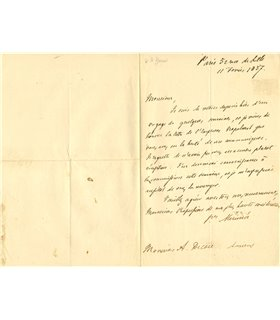 MERIMEE Prosper, 11 février 1857