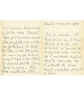 BONAPARTE MARIE, Vienne 20 novembre 1926