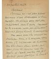 THARAUD Jérôme et Jean, écrivains. Lettre autographe (G 4949)