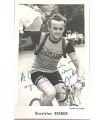BOBER Stanislas, coureur cycliste. Photographie signée, dédicacée (G 4991)