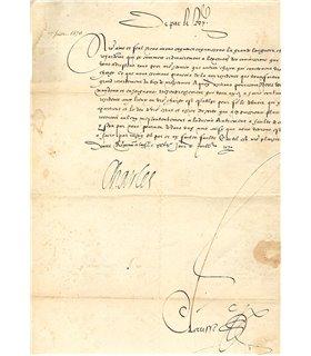 CHARLES IX 1570