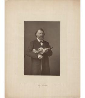 JOACHIM Joseph, violoniste et compositeur. Photographie (E 10480)