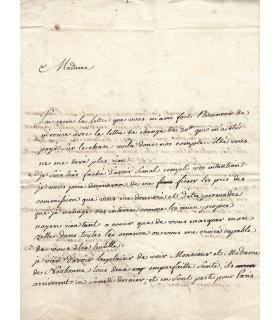 MODE FEMININE. 11 lettres autographes et factures (G 5605)