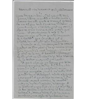 ALAIN-FOURNIER. PORCHE (François). 5 lettres autographes et 2 télégrammes à Pauline Benda, sa future épouse (E 10265)