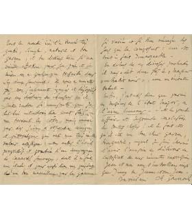 GOUNOD (Charles), Compositeur. lettre autographe (G 4832)