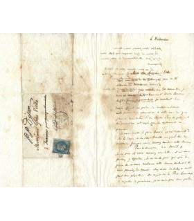 BRANLY Edouard, physicien. Lettre autographe  ( G 2544)