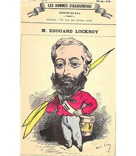 LOCROY Edouard. Homme politique. Ministre.