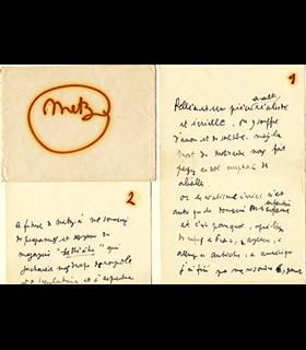COCTEAU Jean. Debussy, Pelléas et Mélisande