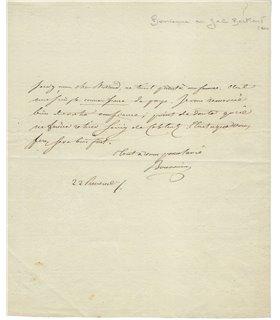 BOURRIENNE, secrétaire et ami de l'Empereur Napoléon 1er