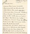 BATAILLE - LAZARRI- CARRE - HERMAN. Lettres Autographes Signées