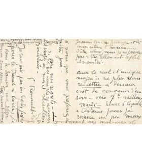 ROUAULT (Georges), peintre, dessinateur et graveur. Lettre autographe (Réf. G 3349)