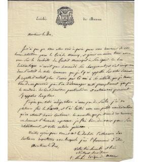 GALLARD (Romain Frédéric abbé). Evêque de Meaux.