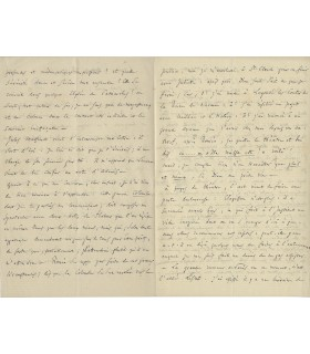 GOUNOD Charles, à Jules Richomme, 23 mars 1866 (Réf. G 4826)