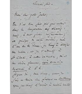 GOUNOD Charles, à Jules Richomme, 16 juillet 1867 (Réf. G 4828)