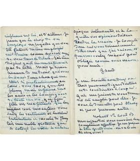 """George Sand cherche à """"caser"""" son ami d'enfance"""