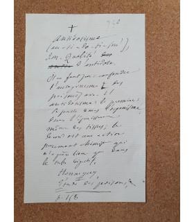 """LITTRE Emile, lexicographe, auteur du dictionnaire """"le Littré""""."""