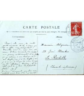 D'INDY Vincent, à son élève Maurice Alquier.