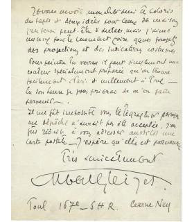 GLEIZES Albert, 1914