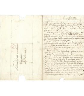 LAMENNAIS, au sujet du Concordat de 1817.